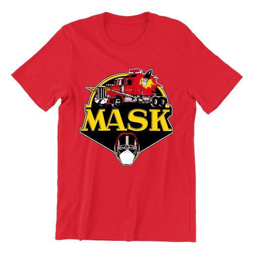M.A.S.K-red-girls-crew-neck-street-unisex-tshirt-singapore