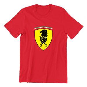Merrari S1 red girls crew neck street unisex tshirt singapore