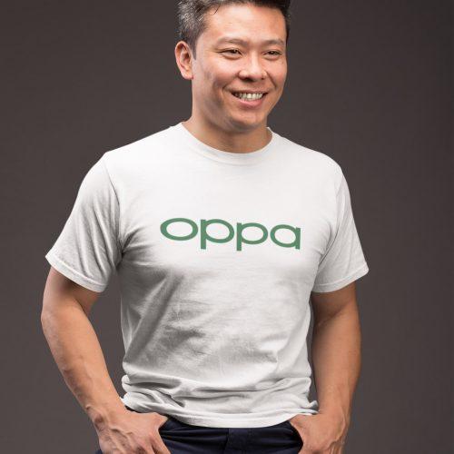 Oppa tshirt singapore kaobeiking oppo parody design
