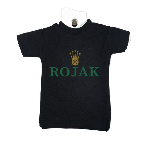 Rojak-black-mini-t-car-gift-windscreen-hanger-decoration