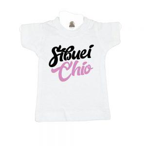 Sibuei Chio-white-mini-t-shirt-gift-idea-home-decoration