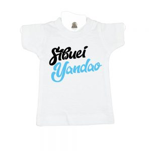 Sibuei Yandao-white-mini-t-shirt-gift-idea-home-decoration