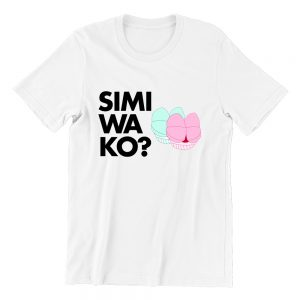 Simi Wako white womens tshrt singapore funny hokkien streetwear
