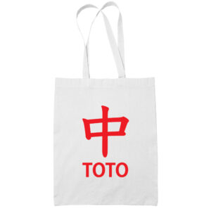 Strike ToTo-cotton-white-tote-bag-carrier-shoulder-ladies-shoulder-shopping-grocery-bag-heng-t