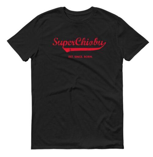 Super Chiobu black womens t shirt hokkien casualwear singapore singlish online vinyl print shop