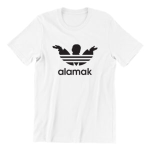 alamak-white-short-sleeve-mens-teeshirt-singapore-kaobeiking-creative-print-fashion-store