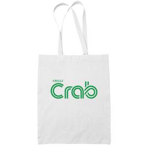 chilli-crab-cotton-white-tote-bag-carrier-shoulder-ladies-shoulder-shopping-grocery-bag-uncleanht