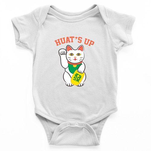 huats up romper baby newborn bodysuit babyshower toddler clothes