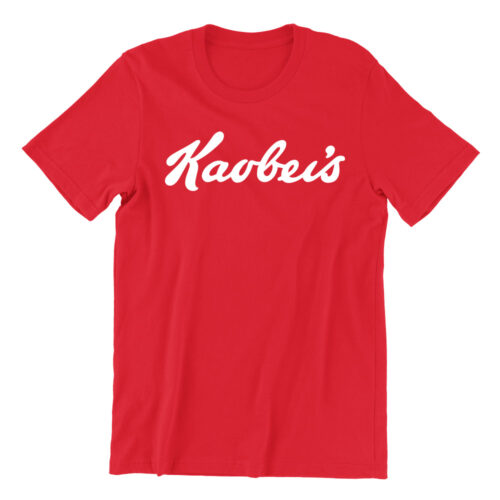 kaobeis-red-casualwear-womens-t-shirt-design-kaobeiking-singapore-funny-clothing-online-shop