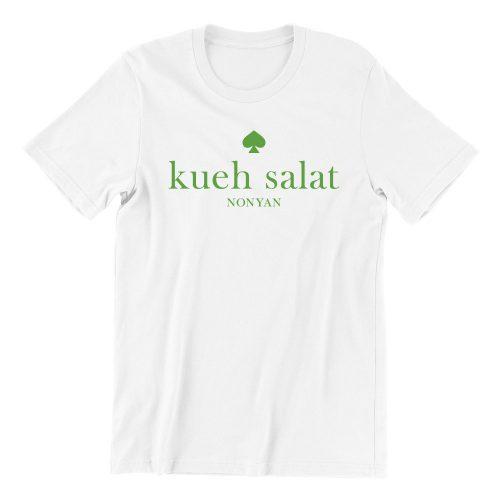 kueh salat-white-short-sleeve-mens-teeshirt-singapore-kaobeiking-creative-print-fashion-store