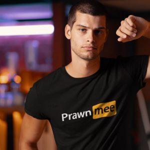 prawn-mee-tshirt-adult-streetewear-singapore-kaobeiking-brand-funny-parody-design
