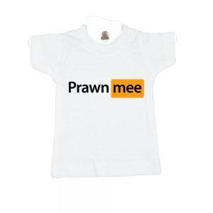 prawn mee-white-mini-t-shirt-gift-idea-home-decoration