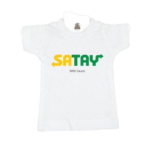satay-white-mini-t-shirt-gift-idea-home-decoration
