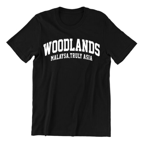woodlands-black-unisex-t-shirt-casualwear-singapore-singlish-online-vinyl-print-shop
